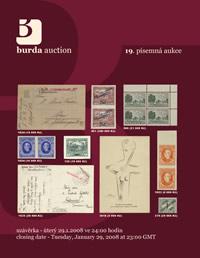 Písemná aukce 19 - aukční katalog