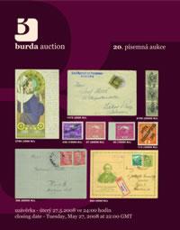 Písemná aukce 20 - aukční katalog