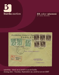 Mail Auction 21 - aukční katalog