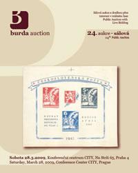 Sálová aukce 24 - aukční katalog