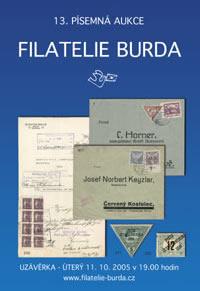 Písemná aukce 13 - aukční katalog