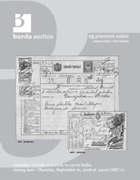 Písemná aukce 15 - aukční katalog
