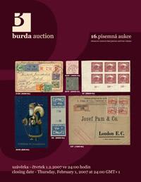 Písemná aukce 16 - aukční katalog