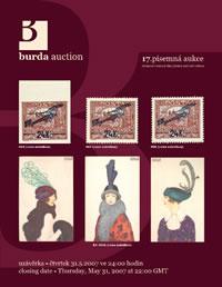 Písemná aukce 17 - aukční katalog