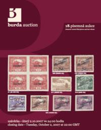 Písemná aukce 18 - aukční katalog